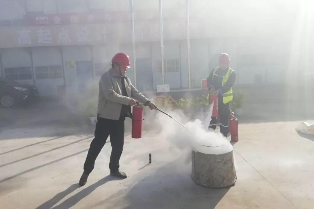 深能环保泗县项目开展消防安全应急疏散实战演练