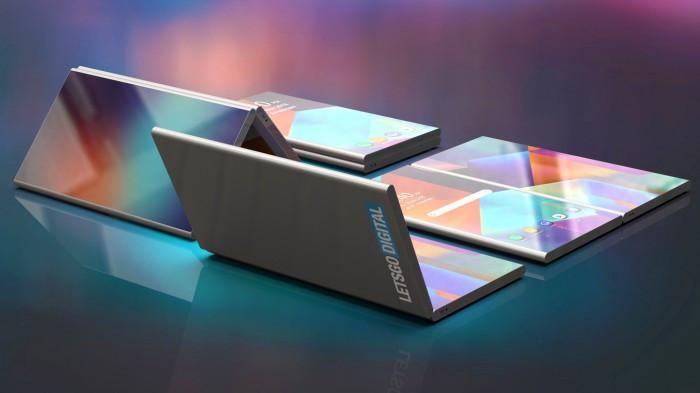 三星新专利折叠双屏手机曝光 神似微软Surface Phone