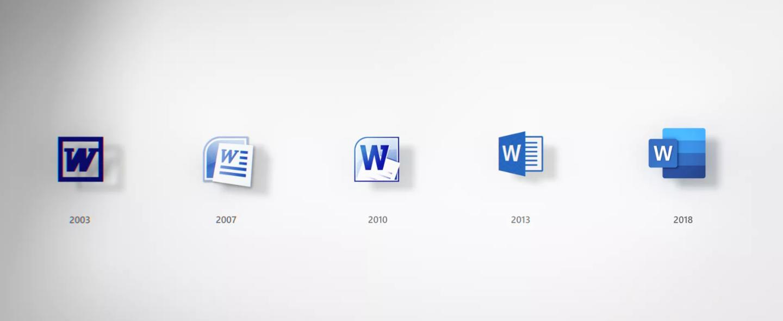 微软推出全新Office图标