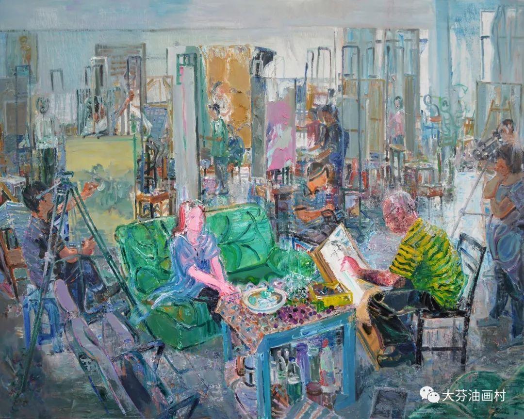 关注  2018·首届深圳大芬国际油画双年展在深圳龙岗盛大开幕图片