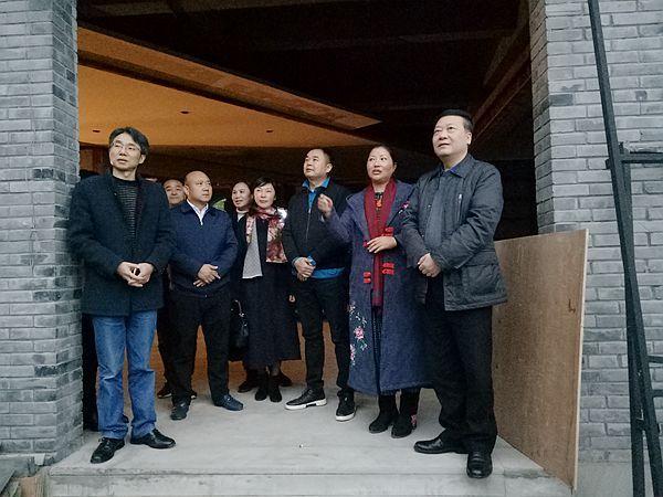 涪陵区政协副主席唐勇调研涪州书院