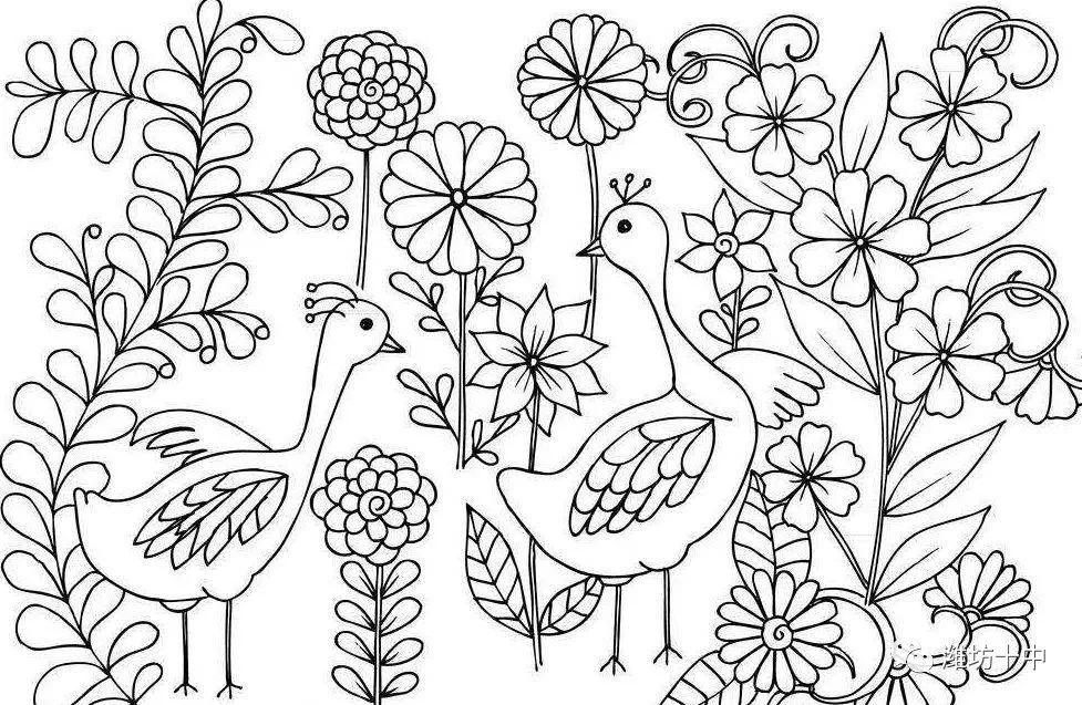 点线面中绘世界,雅韵黑白品人生 潍坊十中小学部美术特色展示