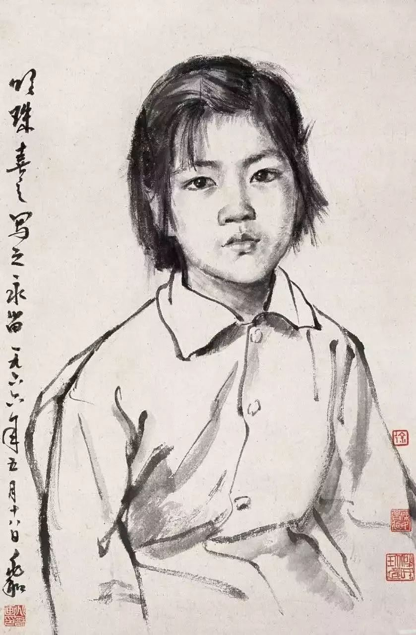"""著名美学家宗白华说: """"中国画是以线条构成为主要表现形式,而西画是图片"""