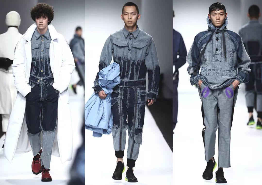 """中央圣马丁设计师NIKE鞋子结合组装成一体的 """"紫色�w影鞋"""