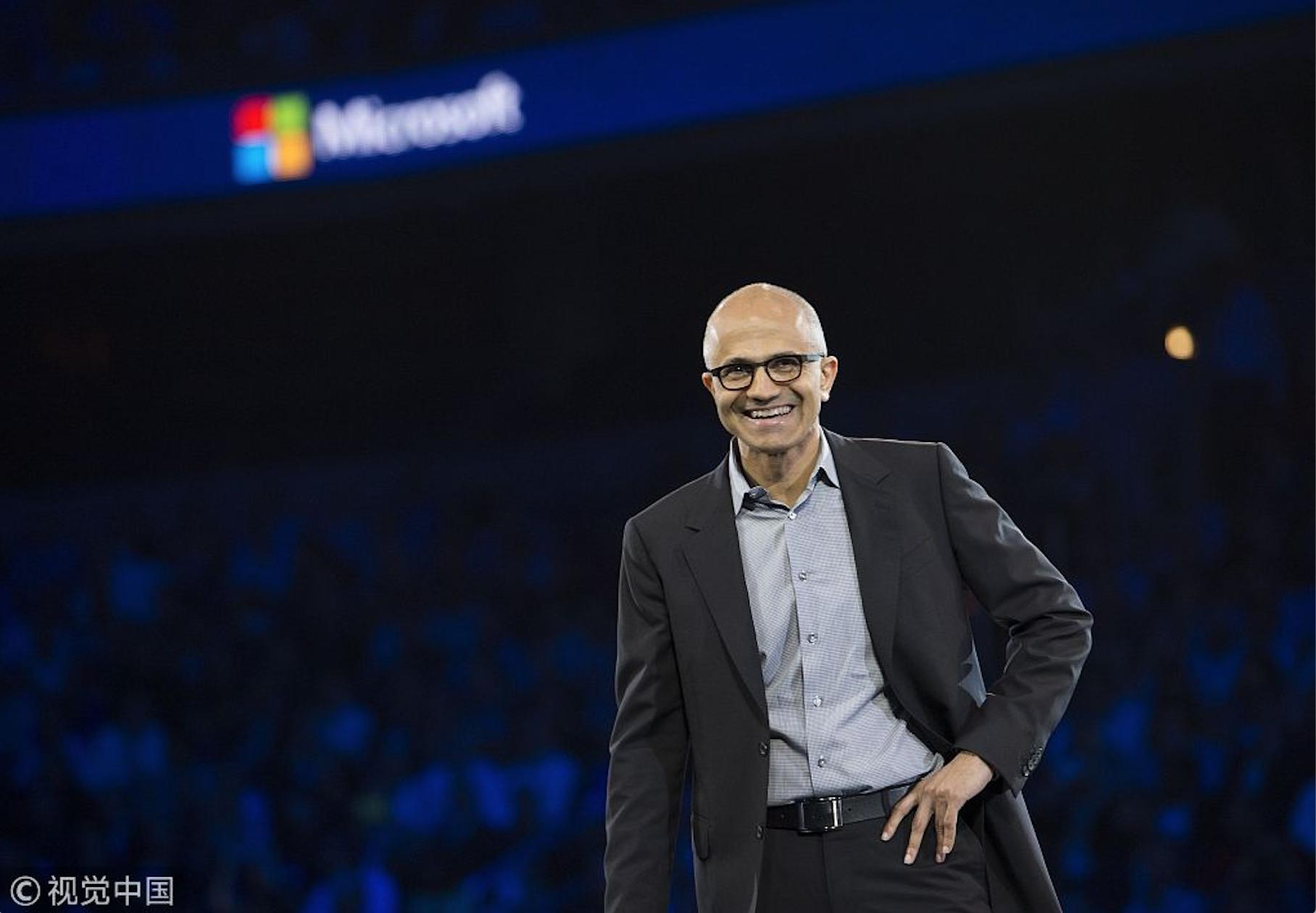 微軟時隔20年重回全球市值第一 !能保持嗎?