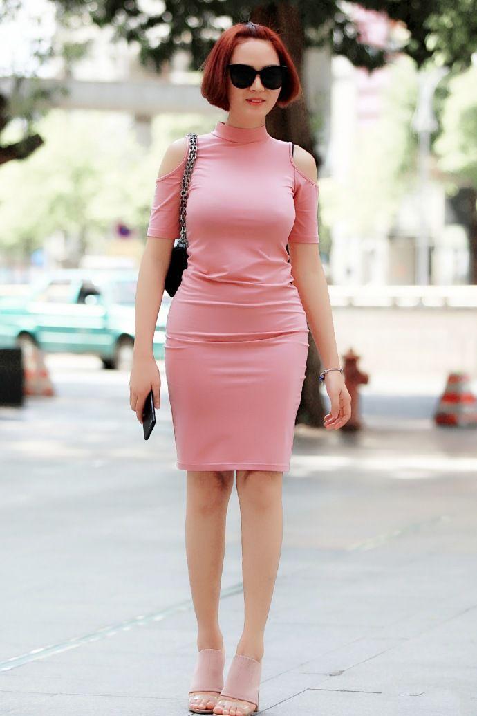 街拍:不同的裙子,不一样的风情!