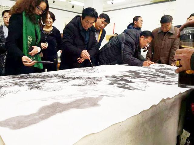 金兰圃艺术沙龙:以艺术的形式描绘山西 歌颂山西