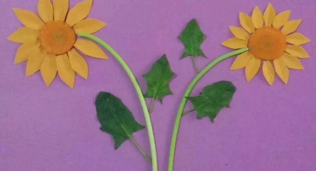 创作发明| 儿童创意小手工漂亮的向日葵拼图详细制作教程图解图片