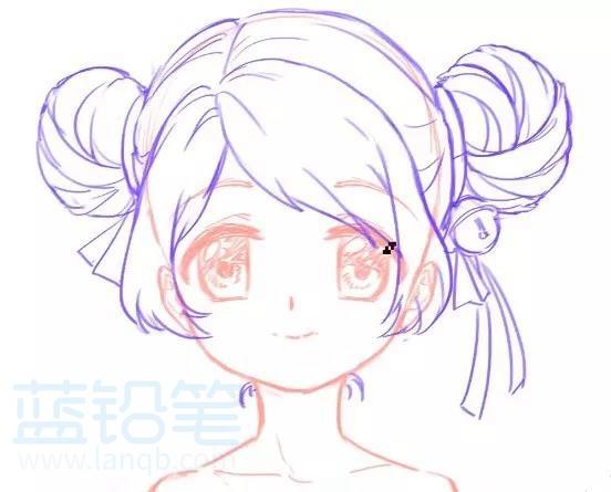 动漫女生人物绘画技巧——萝莉篇,再也不怕是小萝莉还是大姐姐傻傻分