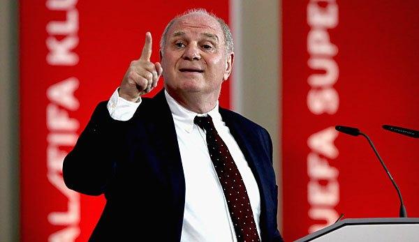赫内斯:愿为罗贝里丢掉冠军 他俩是拜仁的旗帜