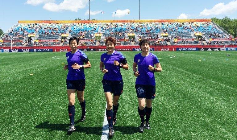 中国裁判将再执法女足世界杯提升中国足球形象