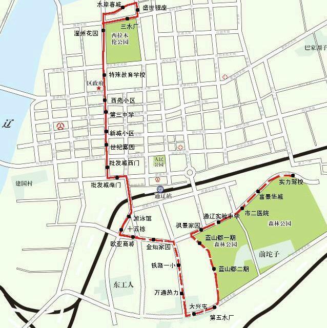铁南市民注意 17路公交车延伸,出行更方便啦 附路线图