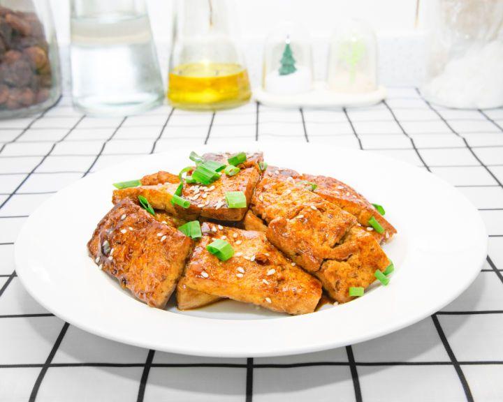 的做法_糖醋豆腐,超美味的素食做法,别着急,心急吃不了热豆腐