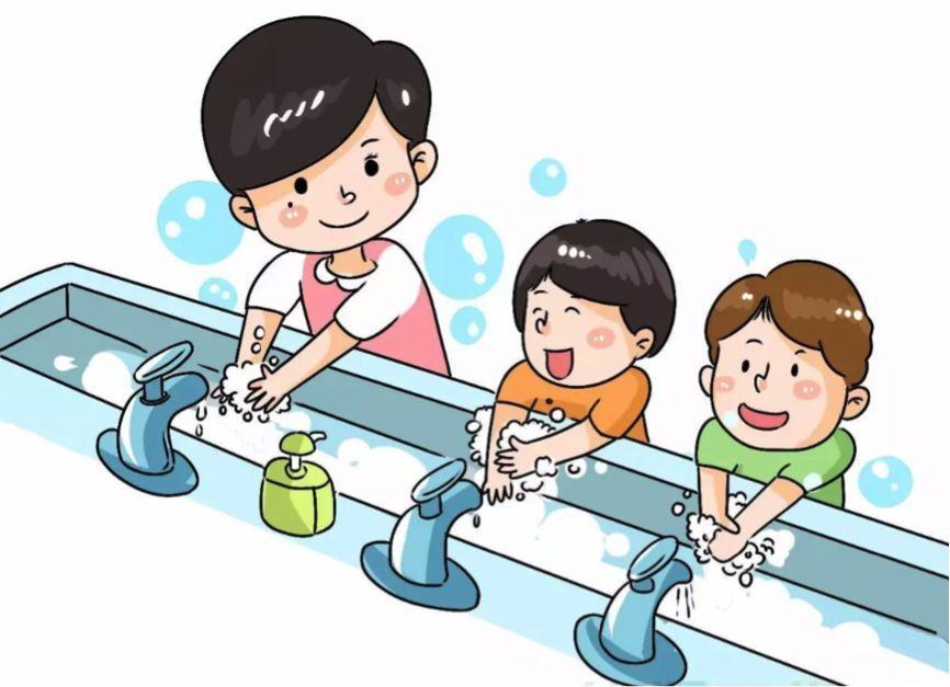 幼儿动漫洗手视频 幼儿洗手图片