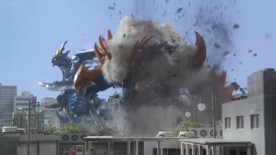 罗布奥特曼 3场怪兽VS怪兽的战斗,古兰特王一招秒掉哥莫拉