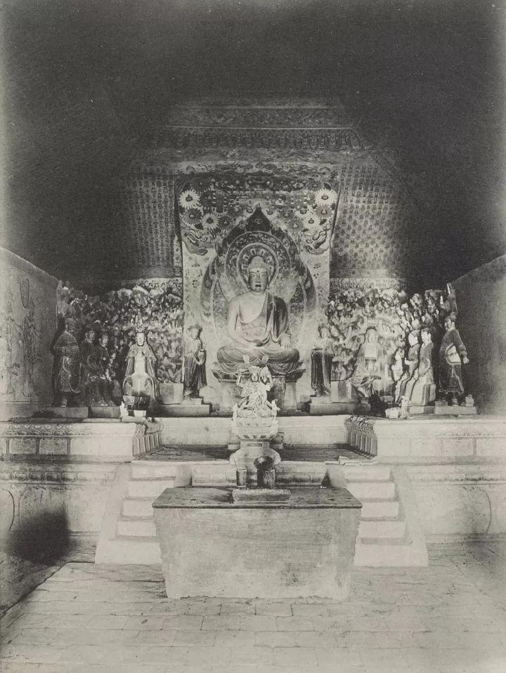 法国人拍下1908年被破坏之前的敦煌莫高窟,极大视觉震撼!