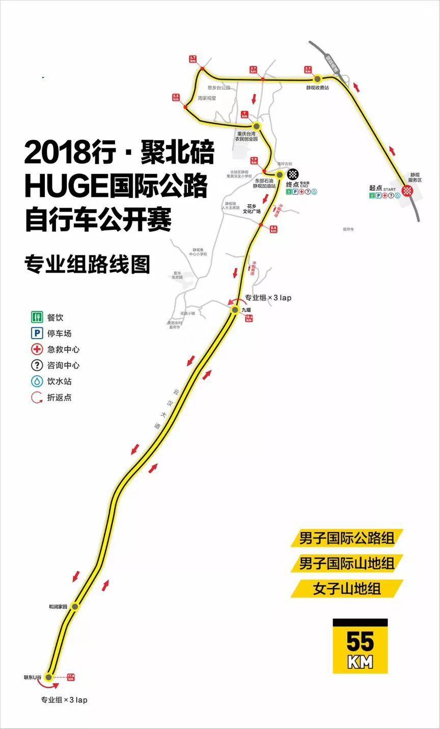 2019行·聚北碚HUGE国际公路自行车公开赛