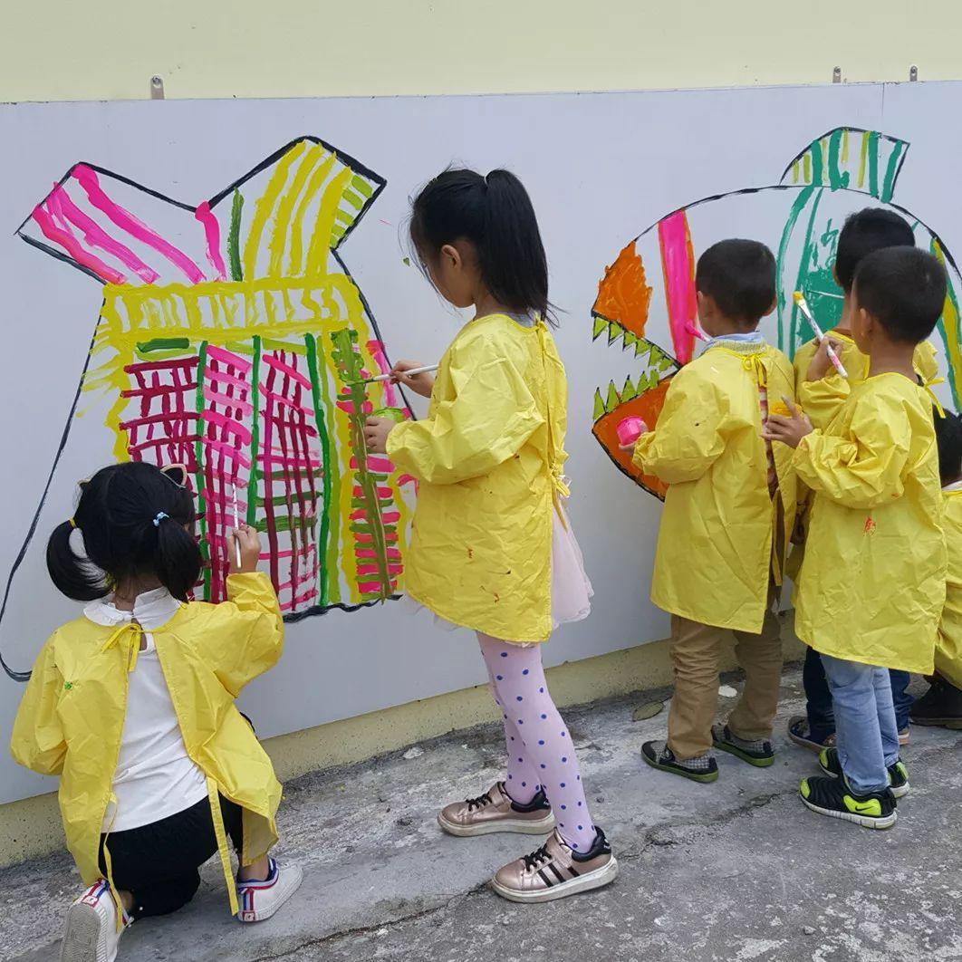 大班儿童绘画作品图片_学识网