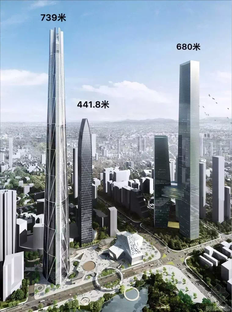 蔡屋围城市规划图(来源:深圳市罗湖区城市更新网)