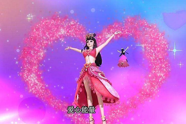 叶罗丽剧中5位美女的拿手动作,王默喜欢画桃心,冰公主图片