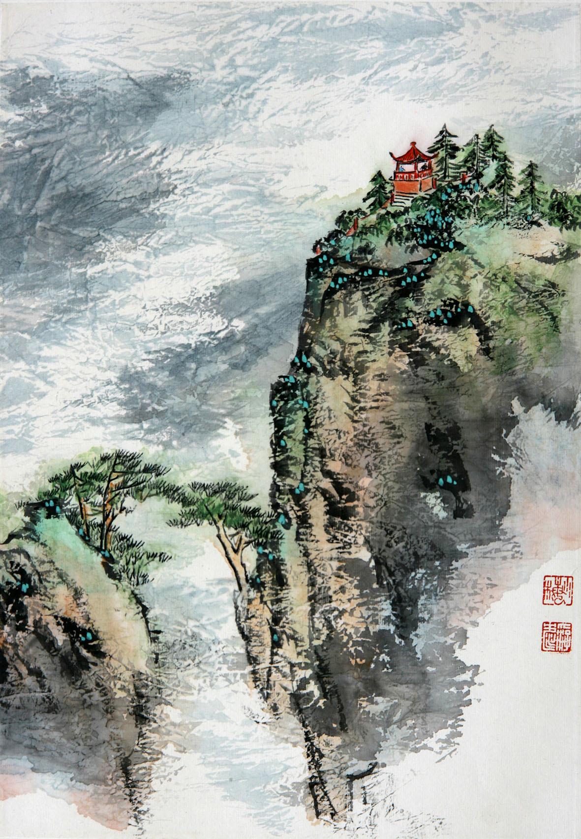 共筑中国梦——陈长智,林庆萍作品展播