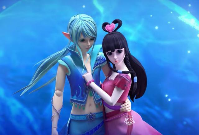 王默接受了水王子的邀请,和罗丽一起来到了叶罗丽仙境水王子的水玲图片