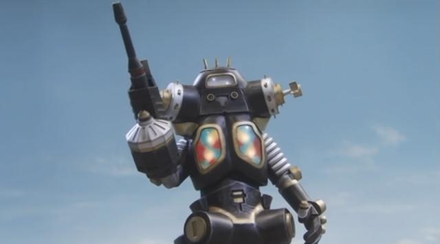奥特曼 4种肤色的金古桥,强大的宇宙机器人,让赛文陷入过苦战