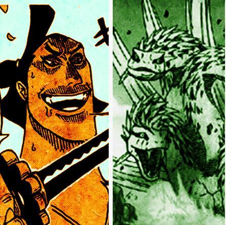 海賊王927話圖片:新人物小紫擁有女帝氣場,幻獸種八岐大蛇出現 4