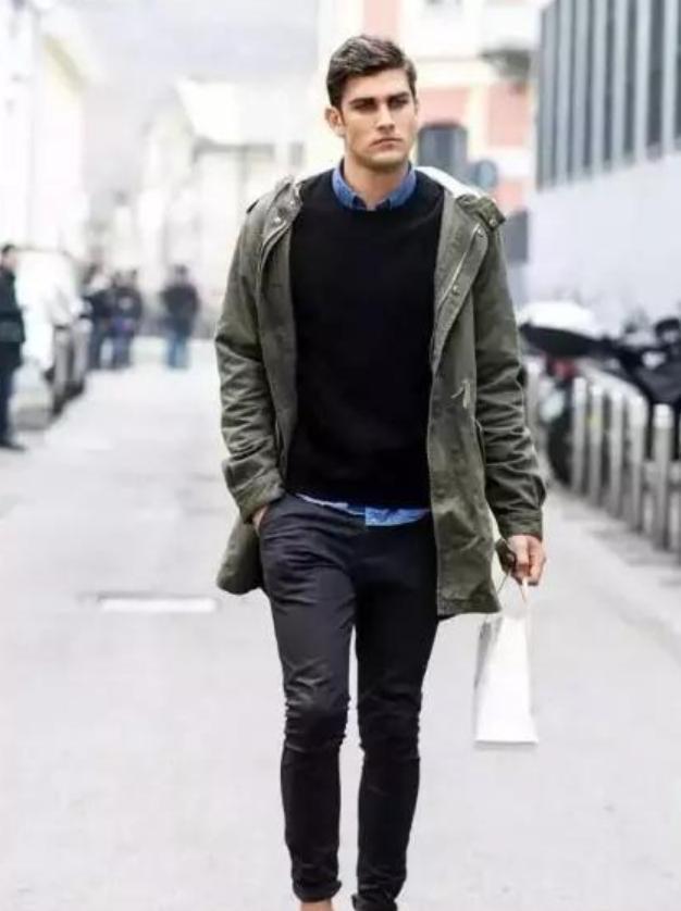 教你男装冬季搭配法则,170穿出185的大高个,你学会了吗?