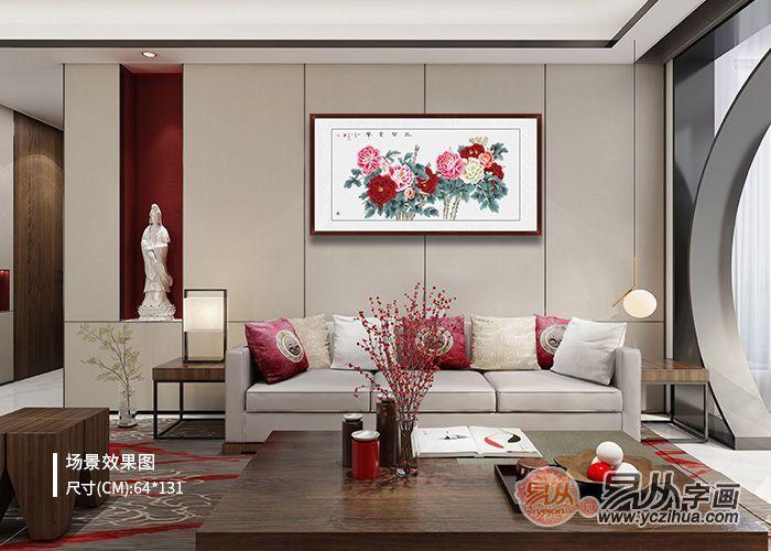 客厅装饰画挂什么好,花鸟画挂出高雅情趣