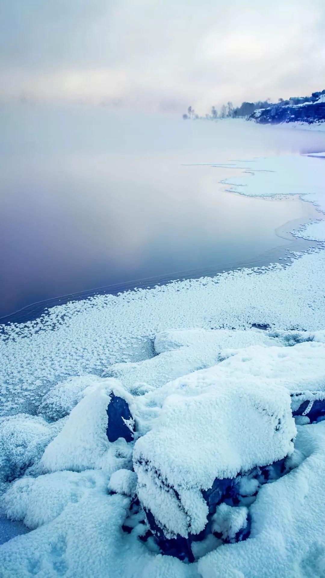 铃声壁纸鸭 下雪天清新唯美壁纸 最适合雪天听的铃声