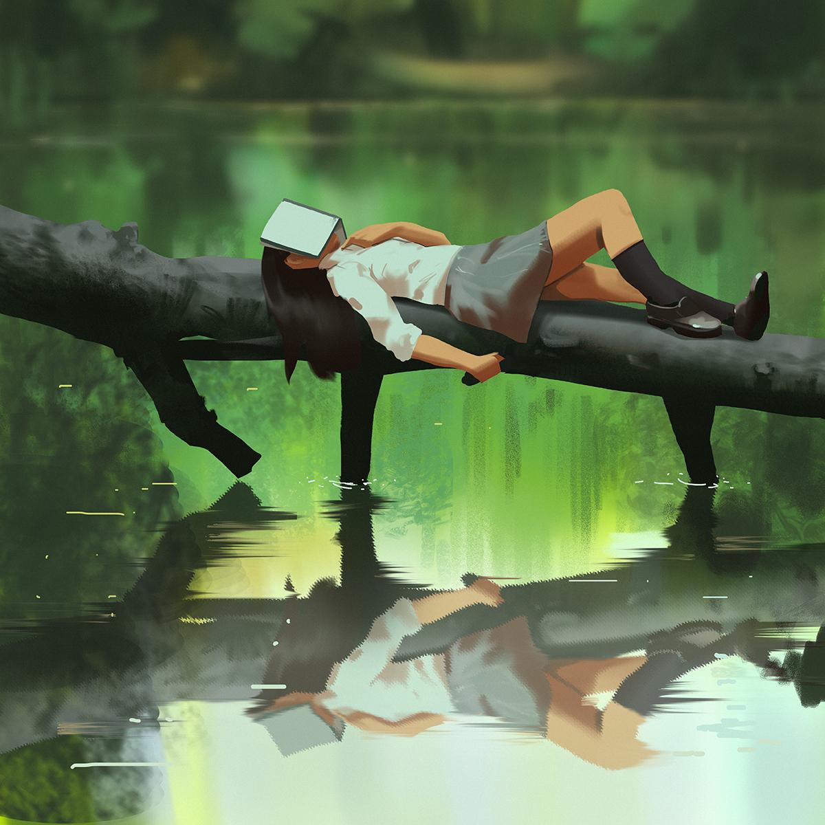 【P站画师】美国画师snatti的插画作品 6