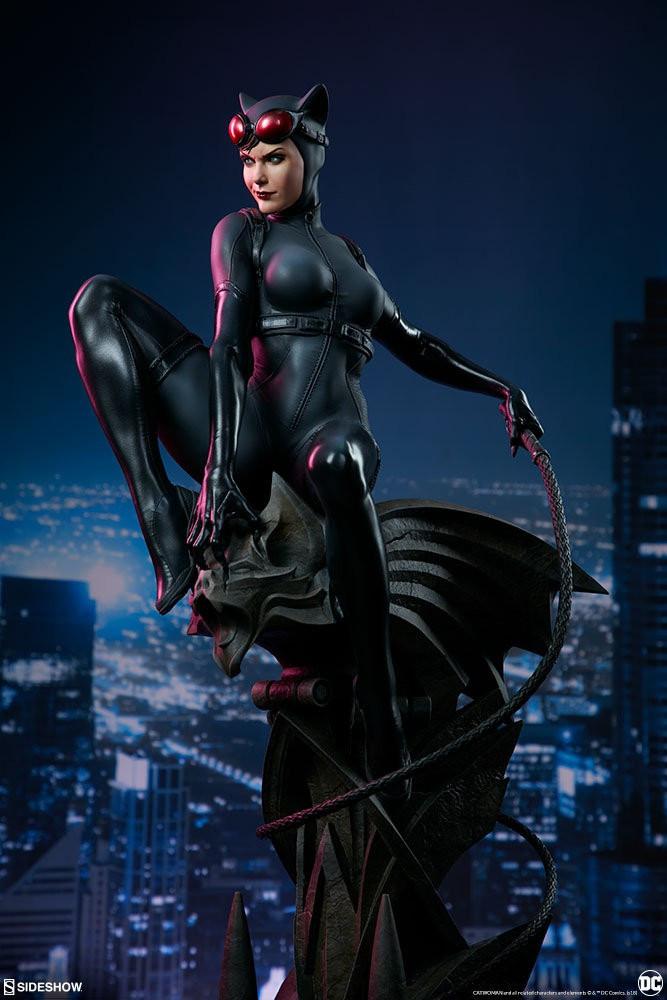 《蝙蝠俠》貓女收藏級手辦欣賞 身材性感前凸後翹 10