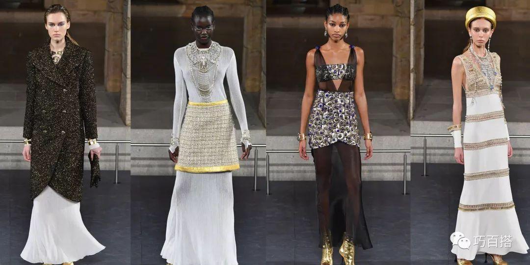 埃及風刮到了時尚圈?劉雯現身香奈兒紐約秀場,簡約着裝十分搶鏡