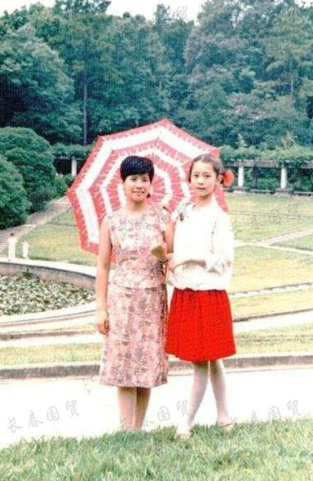 「國民媳婦」海清童年舊照曝光,從小就是美人胚子!