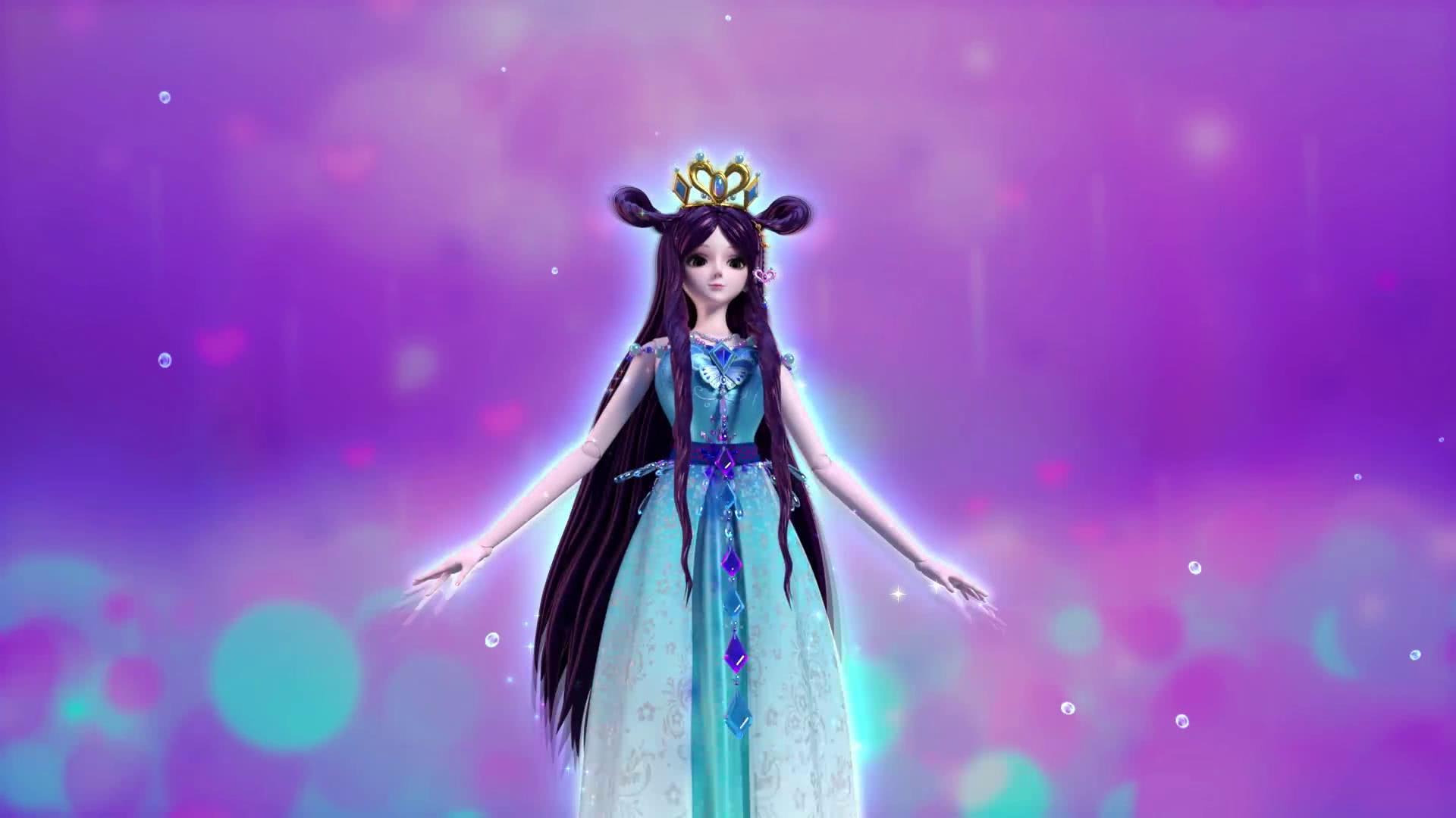 精灵梦叶罗丽:水王子撩妹手段再次升级,送王默水之圣衣!图片