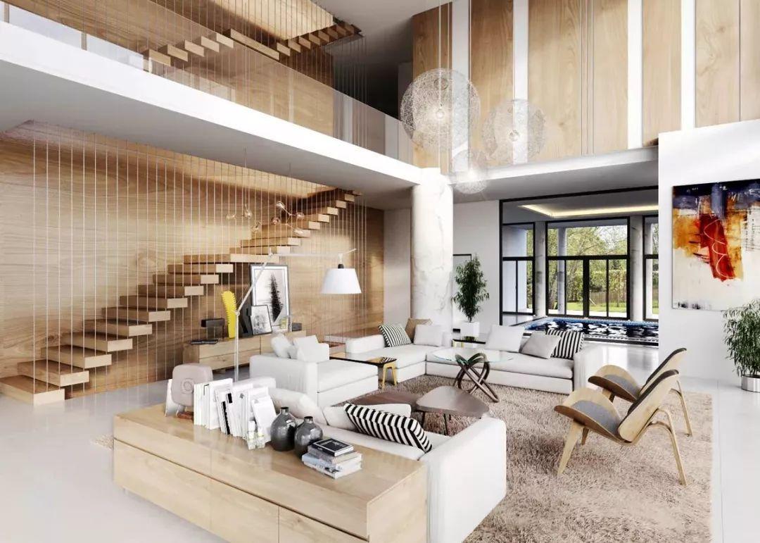 如何设计挑高客厅?
