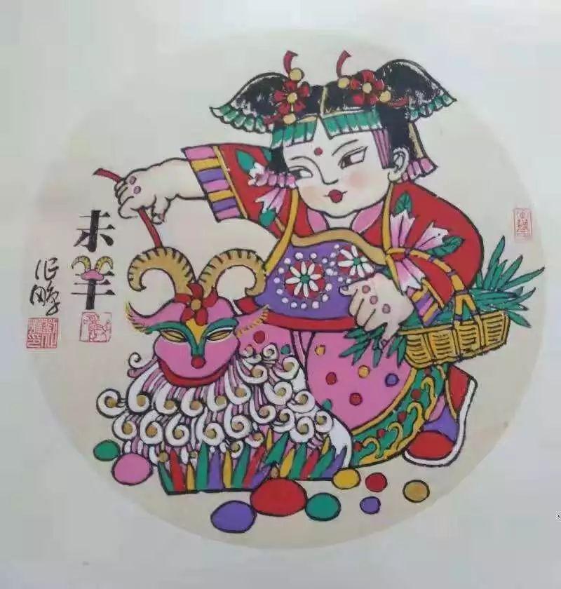 情系手绘年画 绘就五彩人生 ——记吕家楼手绘年画创作者刘作鹏