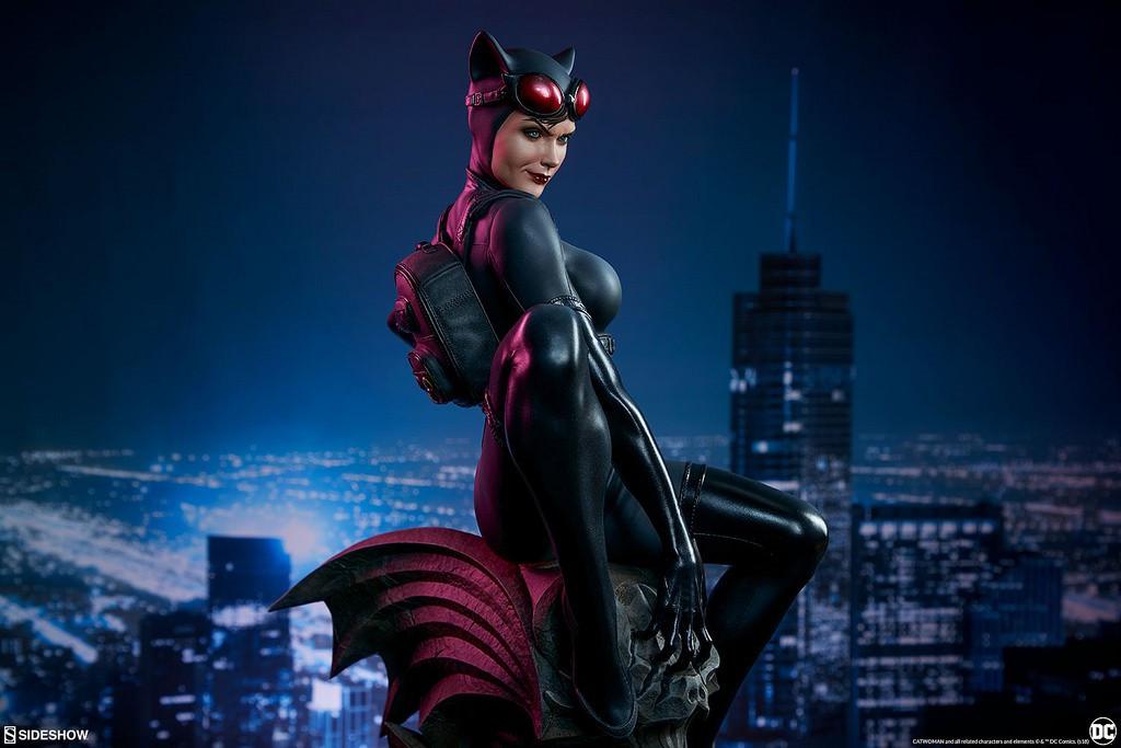 《蝙蝠俠》貓女收藏級手辦欣賞 身材性感前凸後翹 1