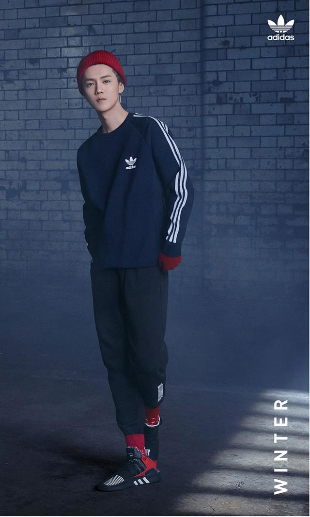 王嘉爾鹿晗楊穎楊冪水原希子共同演繹!adidas Originals全新