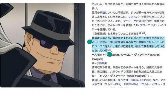 名偵探柯南中伏特加隱藏設定曝光,難道也是一個異國臥底? 3