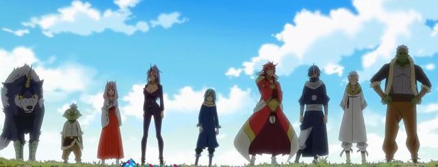 史萊姆:大鬼族進化後成6色戰隊,朱菜和紫苑你選哪個? 5