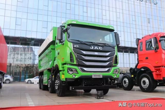 充满力量和强烈的造型感,吉尔送K5自卸车给你看好看!