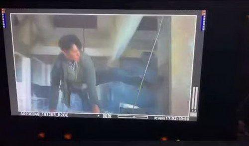 黃子韜驚險動作戲曝光 網友:可能會「飛」吧