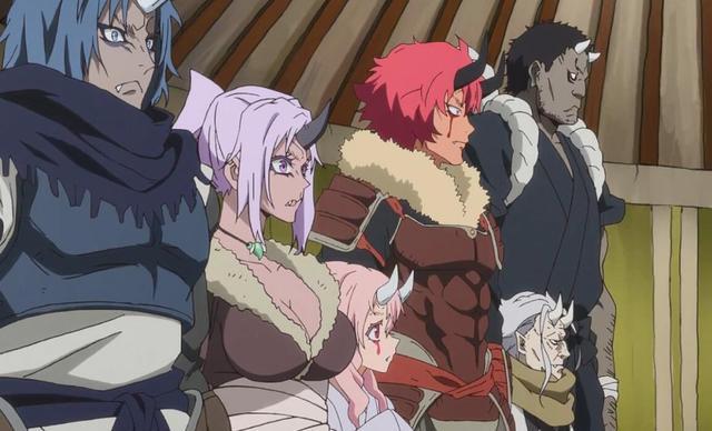 史萊姆:大鬼族進化後成6色戰隊,朱菜和紫苑你選哪個? 1