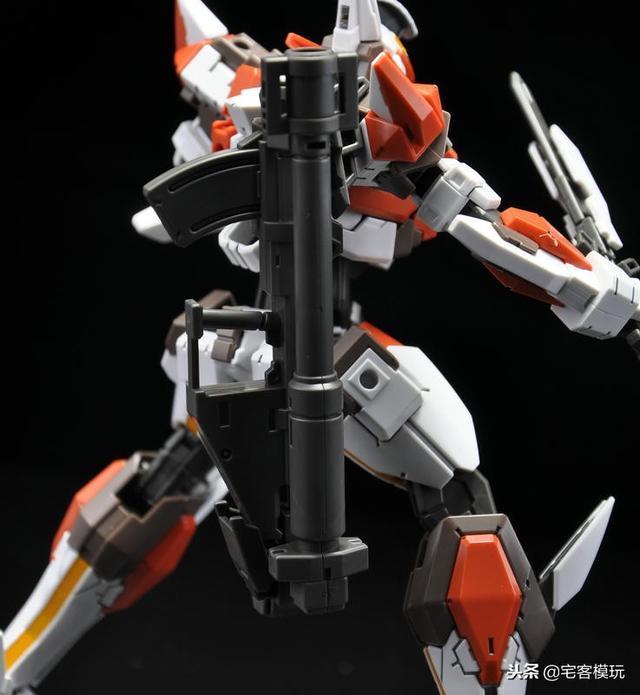 78官測:萬代 HG ARX-8 烈焰魔劍 Ver.IV 55