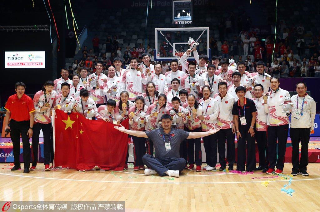 体育运动奖章人员名单公示亚运男女篮队伍获奖