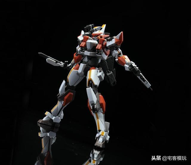 78官測:萬代 HG ARX-8 烈焰魔劍 Ver.IV 73