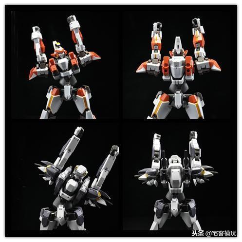 78官測:萬代 HG ARX-8 烈焰魔劍 Ver.IV 64