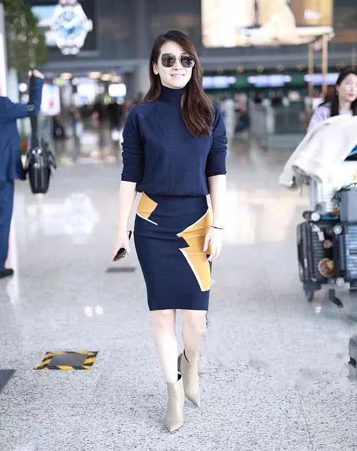 陈紫函身材管理太不走心,脸是包子脸,腿却不简单!